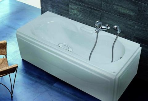 Bathtub normal a mahgoub for ceramic and porcelain for Normal bathtub size