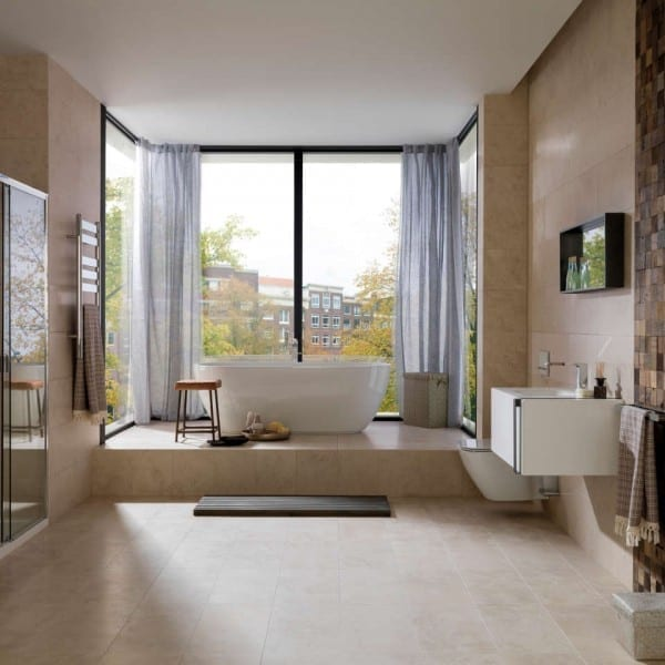 Antic Colonial Porcelanosa pavimento caliza Montreal Classico Wood Square Aged 600x600 - Montreal Classico