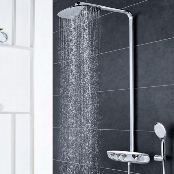 Rainshower system smart control