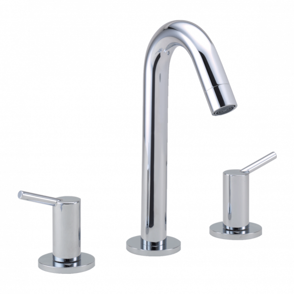Talis 3 hole basin mixer 150 with pop up waste set 600x600 - Talis
