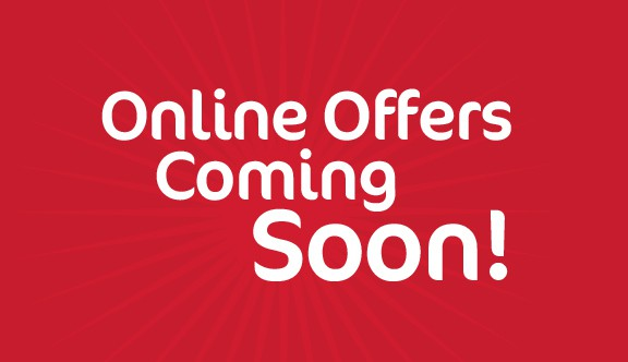 online offers - Coming Soon
